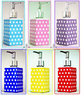 Dots Soap Dispenser Decorative Porcelain Blues Pink Purple Red Yellow