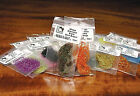 MIDGE DIAMOND BRAID -- Dyed Pearl & Holographic Colors -- Fly Tying