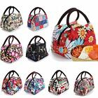 Women Outdoor Travel Lunch Bag Casual Handbag Picnic Totes Carry Box Storage