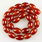 K59554 15x12mm Red agate beads loose beads 25pcs