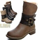 Winter Boots Ankle Boots Hochschaft Padded Lined Boots Women's Shoes