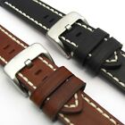 Heavy Saddle Leather Watch Band Strap by CONDOR 22mm 24mm 26mm 319R