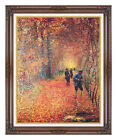 The Hunt Hunting Claude Monet Painting Reproduction Framed Giclee Fine Art Print