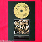 BON JOVI keep the faith Signed CD DISC Repro MOUNTED A4 Autograph Print (43)