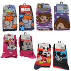 Official Licensed Disney - 2 Pairs Girls or Boys Socks - 4 designs - Size 9-11.5