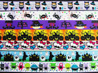 "10 yards Roll Halloween Grosgrain 7/8"" Ribbon/Craft/Skull/Witch/Spider/Bow RYH"