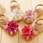 New Baby Girls Sandals Shoes Skidproof Summer Cool Toddlers Infant  PU Leather