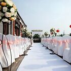 1 Satin Chair Cover Wedding Party Banquet Sell Color Hot Sale Decor Supplies New