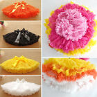 Girls Tutu Bowknot Ballet Skirt Dance Dress Pettiskirt Dancewear For 4-10 Years