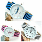 New Lovers Classical Stripes Navy Style Modern Stylish Atmosphere Wrist Watch