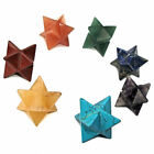 1 x Gemstone Crystal Merkaba Merkabah Star Energy Vehicle of Divine Light 20mm