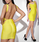 Sexy Women Solid Backless Bodycon Evening Party Cocktail Nightclub Bandeau Dress