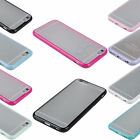 Ultra Slim TPU Bumper Frame with Matte Clear Hard Case Cover for Apple iPhone 6