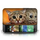 STUFF4 Back Case/Cover/Skin for HTC One/1 M8/Funny Animals