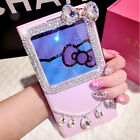 Bow Necklace Diamond S-View Leather Case Cover For Samsung Galaxy S5 I9600 Note