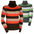 ROLLKRAGEN ROLLI PULLOVER GESTREIFT STRIPED SWEATER Gr.32 34 36 38 40 42