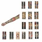NEW 1xTemporary Fake Slip Tattoos Arm Sleeves Body Art Set Cuffs-Cover Sleevelet