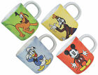 Disney Retro Character Fine Porcelain Mug - Mickey Minnie Goofy - New & Official