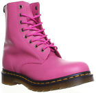 10604 Dr Martens Pascal Womens 8 Eyelet Leather Buttero Ankle Boots