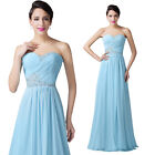 ~Fascinating~ Long Sweetheart Bridesmaid Prom Ball Gown Party Prom Evening Dress