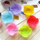 12pcs Soft Silicone Cake Muffin Chocolate Cupcake Bakeware Baking Cup Mold