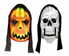 "21"" Giant Hooded Horror Plaque Halloween Party Room Decoration Fancy Dress"