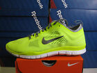 WMNS NIKE FREE 5.0 TR FIT 4 VOLT/COOL GREY- WHITE  629496 700