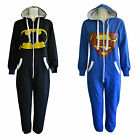 Kids Batman/ Superman Boys and Girls Playsuits All In One Piece Jumpsuits