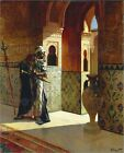 Poster / Leinwandbild The Moorish Guard, the Alhambra - Rudolph Ernst