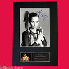 BJORK Signed Autograph Quality Mounted Photo Reproduction A4 210 x 297mm