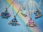 LiLo AND STiTcH CHaRaCTeR PeNDaNT CHaRM NeCKLaCe iN GiFT BaG