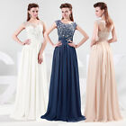 2014 Long Chiffon Evening Formal Bridesmaid Wedding Gown Prom Homecoming Dresses