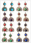 Blog a Charms Party Crystal Resin Dangle Calabash Shape Earrings Jewelry