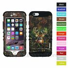 """For 4.7"""" iPhone 6 Deer Hunter Camouflage Design Hybrid Rugged Impact Case Cover"""