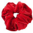High Sheen Velvet Feel Hair Scrunchie Bobble Hair Band Elastic Hair Accessories