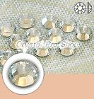 GENUINE Swarovski Moonlight ( MOL ) Hotfix Rhinestone Iron on Round Crystal Gem