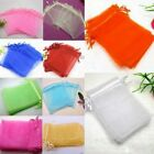 Lots 10x15cm Premium Organza Wedding Party Favour Gift Bags Jewellery Pouches