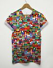 Square Flags All Over T Shirt Flag International Worldwide Sport Indie Hipster