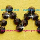 GENUINE Swarovski Jet Nut ( NUT ) Crystal ( NO-Hotfix ) Flat back Rhinestone Gem