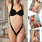 Sexy Women's Lace Lingerie Sleepwear Teddy Jumpsuit Clubwear Charm your bady New