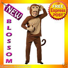 C699 Mens Monkeying Around Funny Monkey Halloween Animal Adult Costume