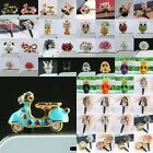 Crystal Rhinestone Cellphone Headset Dust-proof  Ear Cap Phone Jack Plug Stopper