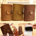 Korean Pari Tower Mens Ladies 20 Cards Credit ID Card Holder Leather Wallet Bag