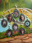 SUPERNATURAL CLIP ON CHARM SAM DEAN CASTIEL MISHA JARED PHONE HANDBAG BRACELET