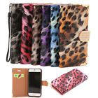 For 5.5'' iPhone6S Plus Luxury Leopard Pattern PU Leather Wallet Flip Cover Case