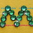 GENUINE Swarovski Emerald (205) Crystal (No hotfix) Flat back Loose Rhinestone