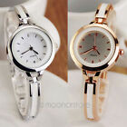 Fashion Elegant Women OL Ladies Bracelet Quartz Wrist Watch Analog Cuff Bangle