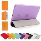 Premium MAGNETIC LEATHER ULTRA THIN SMART COVER + BACK CASE FOR  IPAD MINI 2