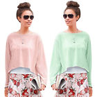 VINTAGE BLOGGER HIPSTER OVERSIZED SHIRT Gr.44/46/48 L/XL Top MINT SORBET