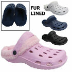 Ladies Snugg Slippers Womens Mules Sandals Winter Fur Lined Clogs Size Uk 3-8